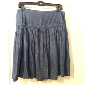 GAP Denim Mini Full Skirt